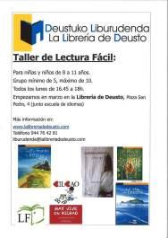 taller en librería